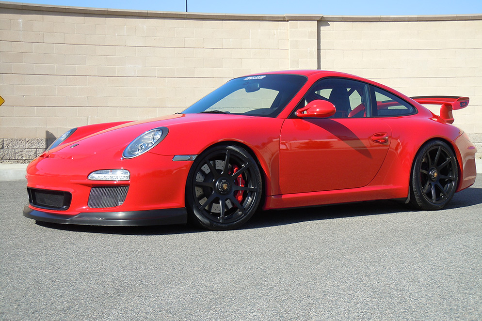 Red 997 Gt3 Gmg Racing