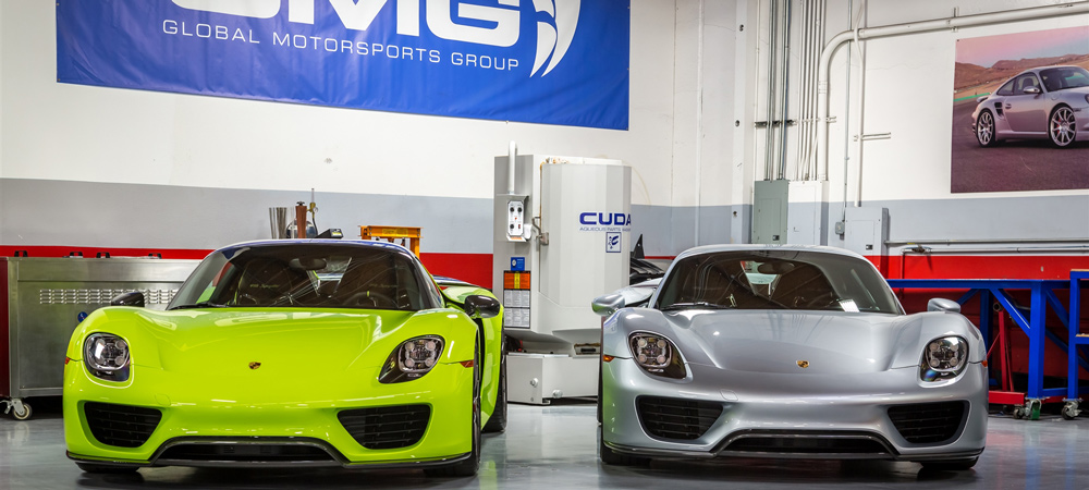 Porsche 918 at the GMG Racing 2016 Open House