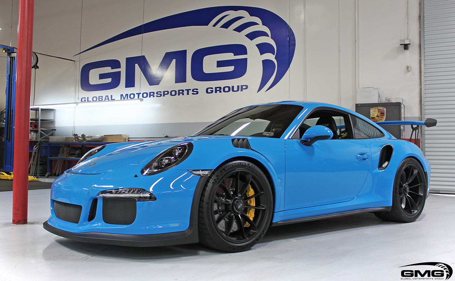 Mexico Blue Porsche Gt3rs Gmg