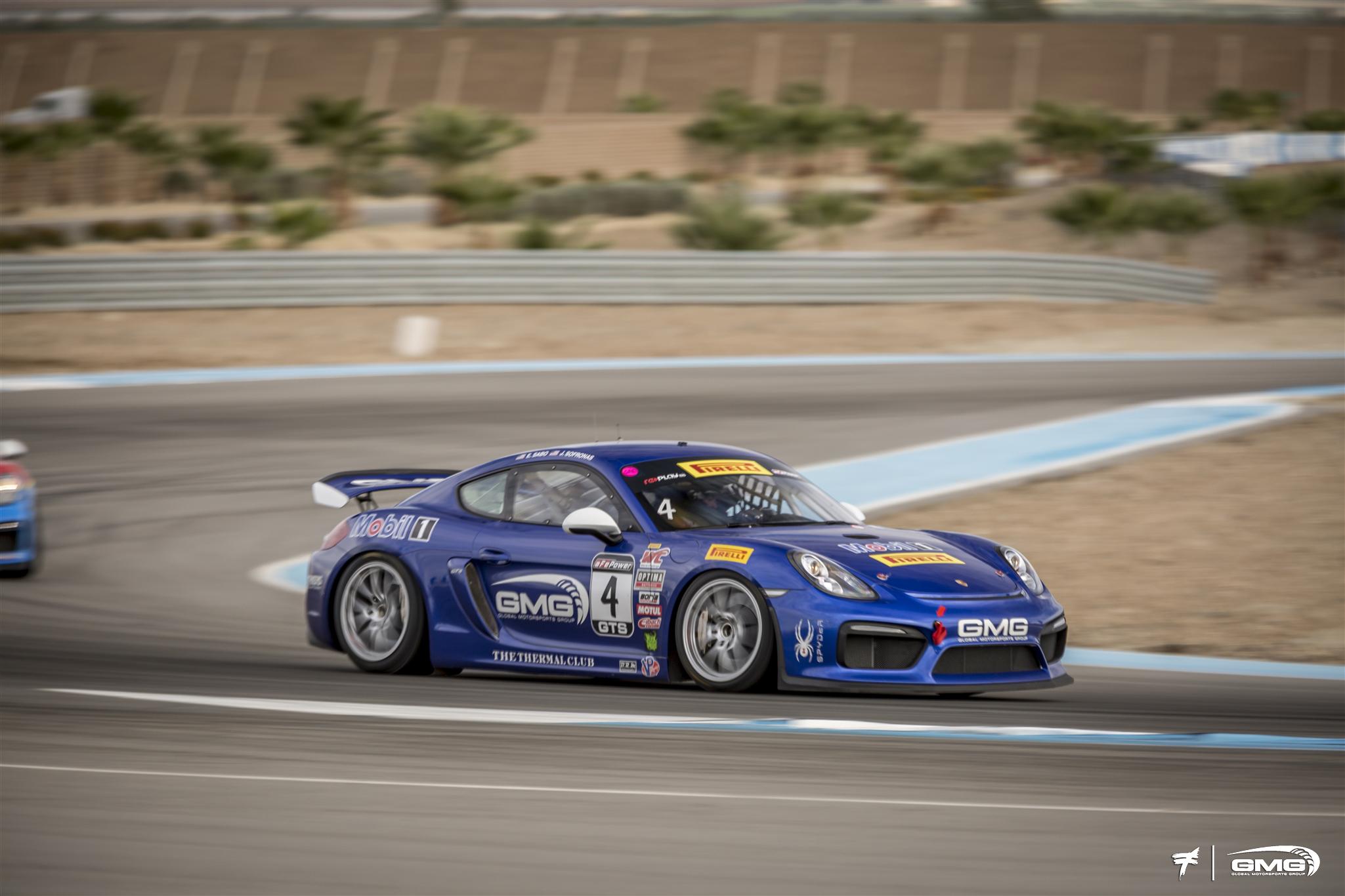 GMG Racing Porsche Cayman GT4 clubsport