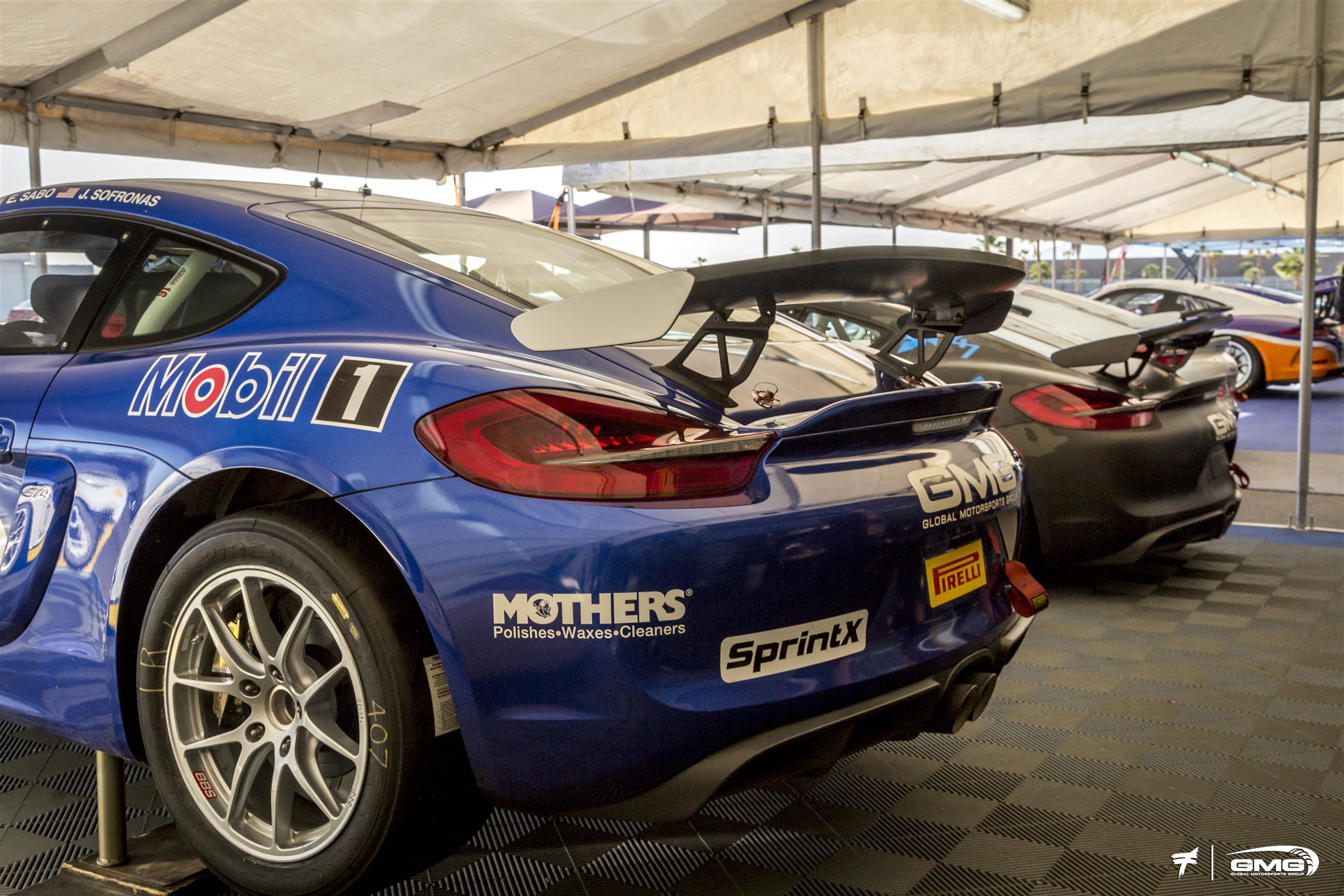 GMG Racing Porsche GT4 Clubsport