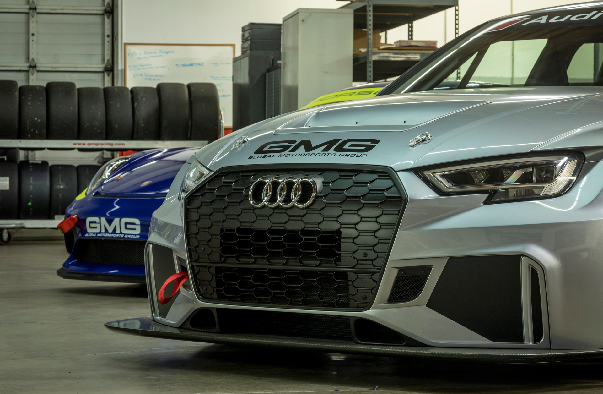 Audi Factory Service at GMG Racing