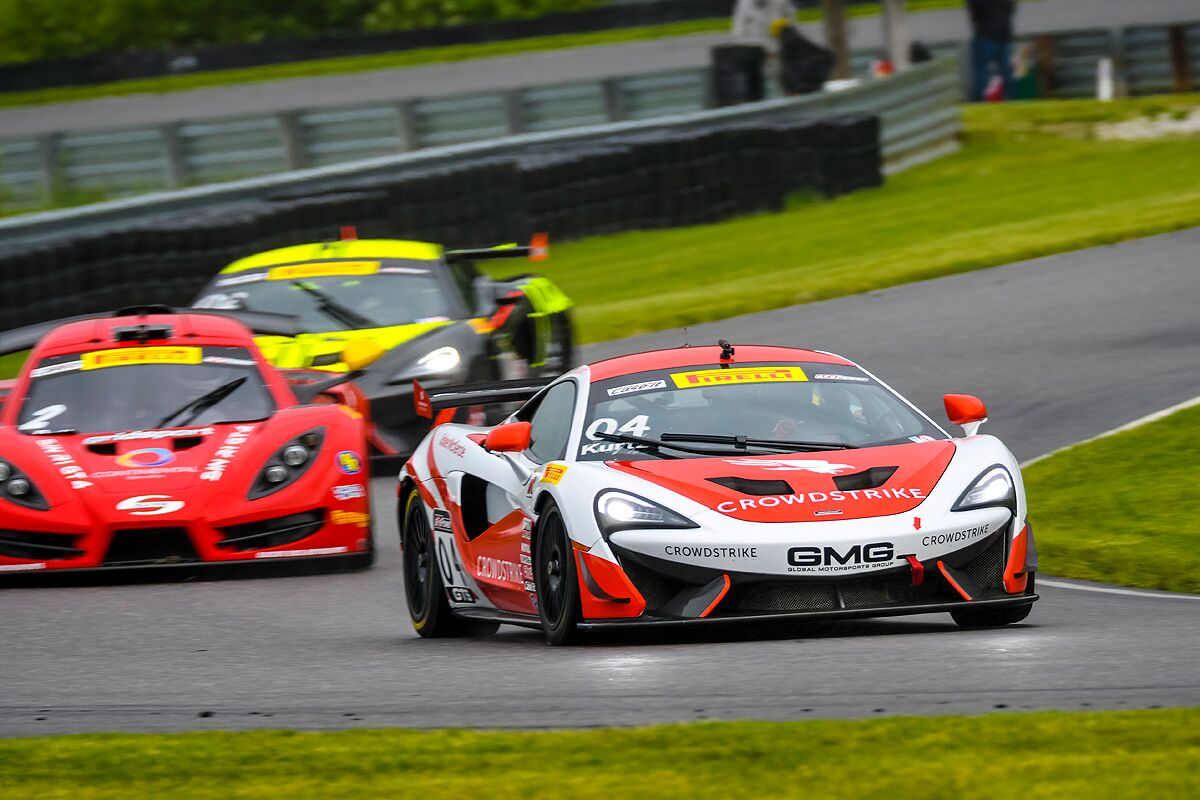 George Kurtz Lime Rock Mclaren 2017