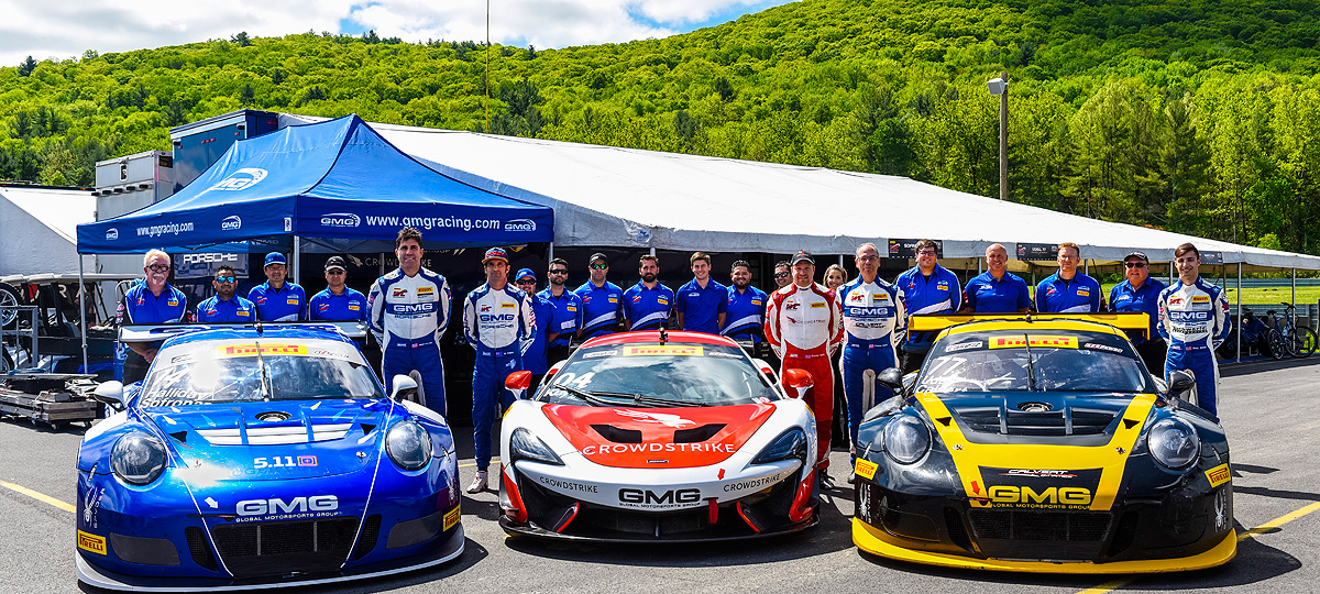 GMG Brings Four Cars to Exciting Road America Weekend 2017