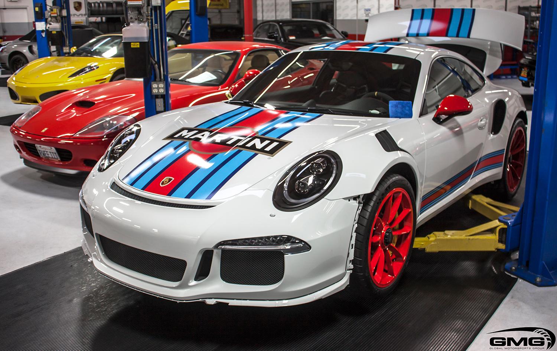 Porsche 991 GT3RS (Martini-Style)