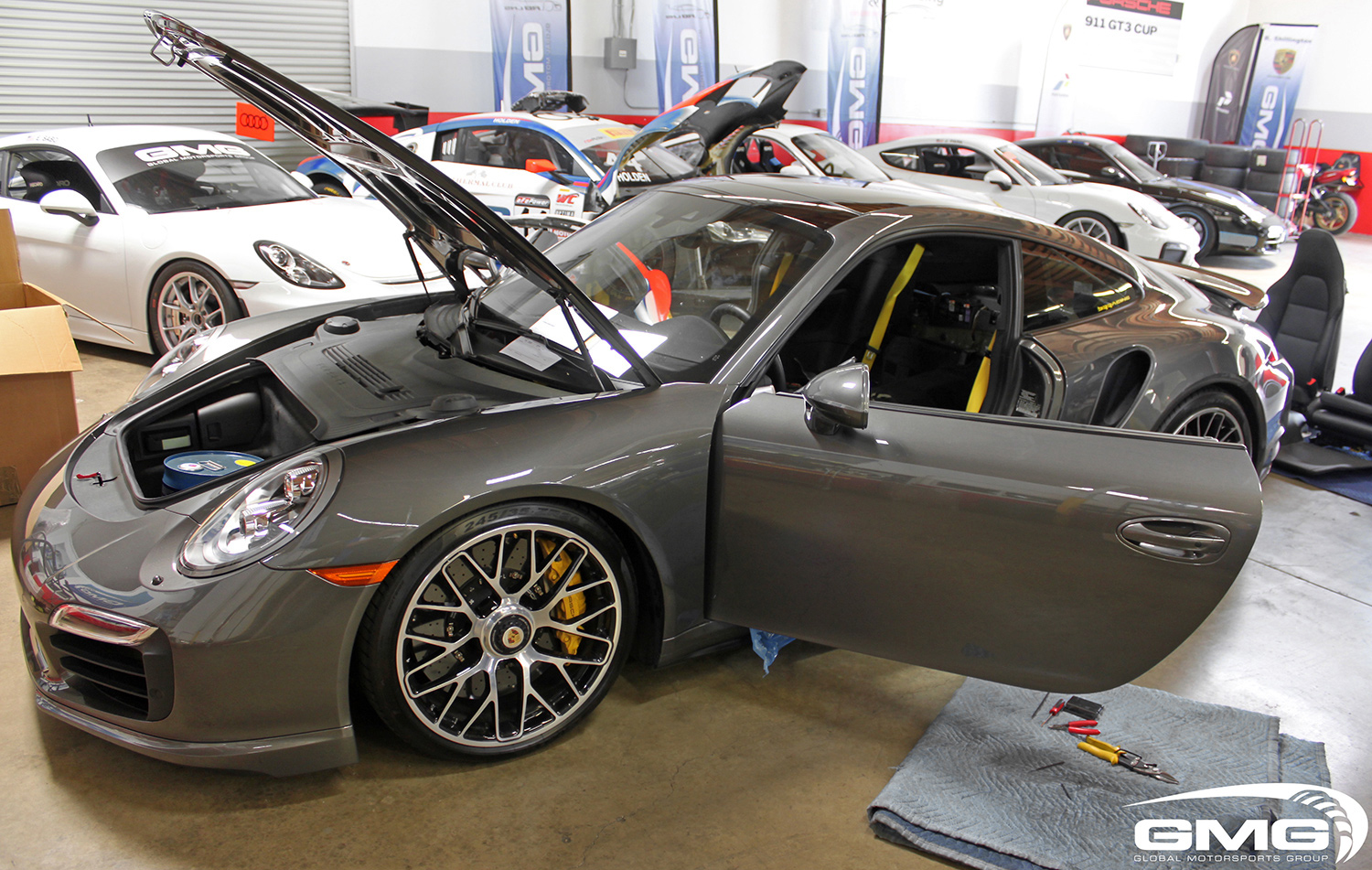 991.1 Turbo S (Rollbar and Race Seats)