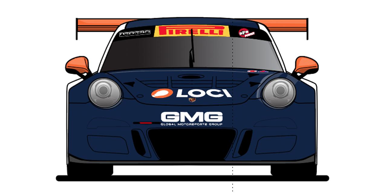 Loci.io GMG Racing Porsche GT3 Cup