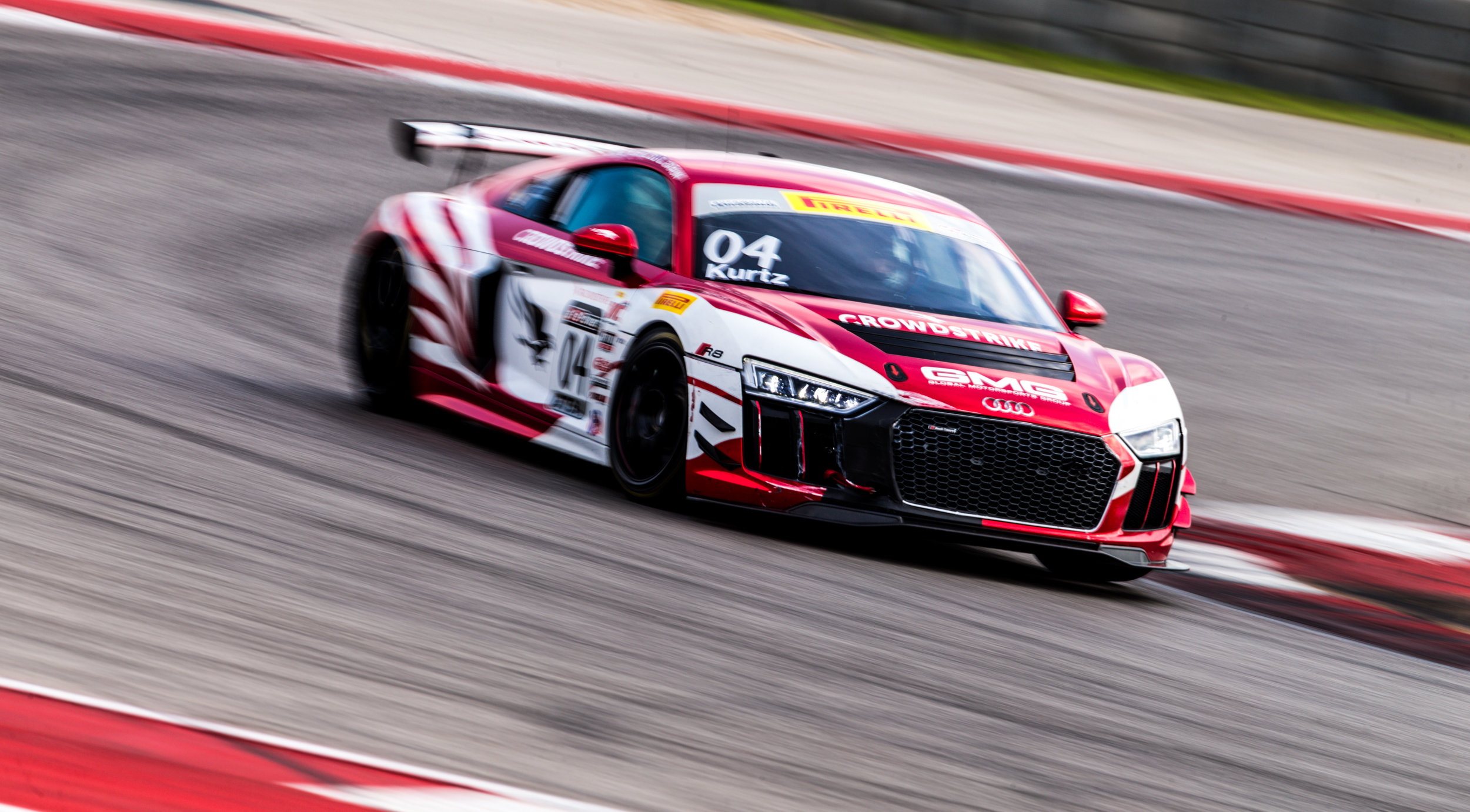 George Kurtz in the GMG Racing Audi GT4