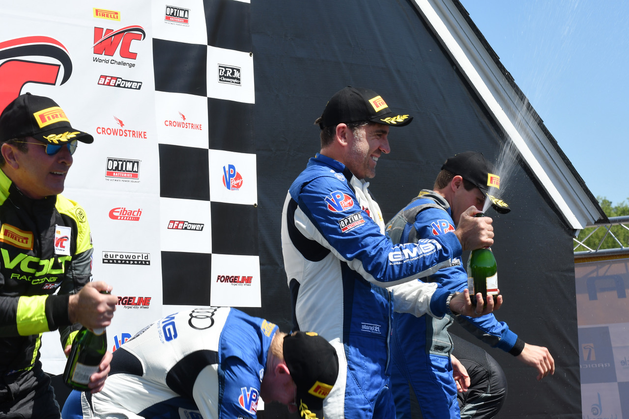 GMG Racing Clinches Pirelli World Challenge SprintX Victory in Virginia