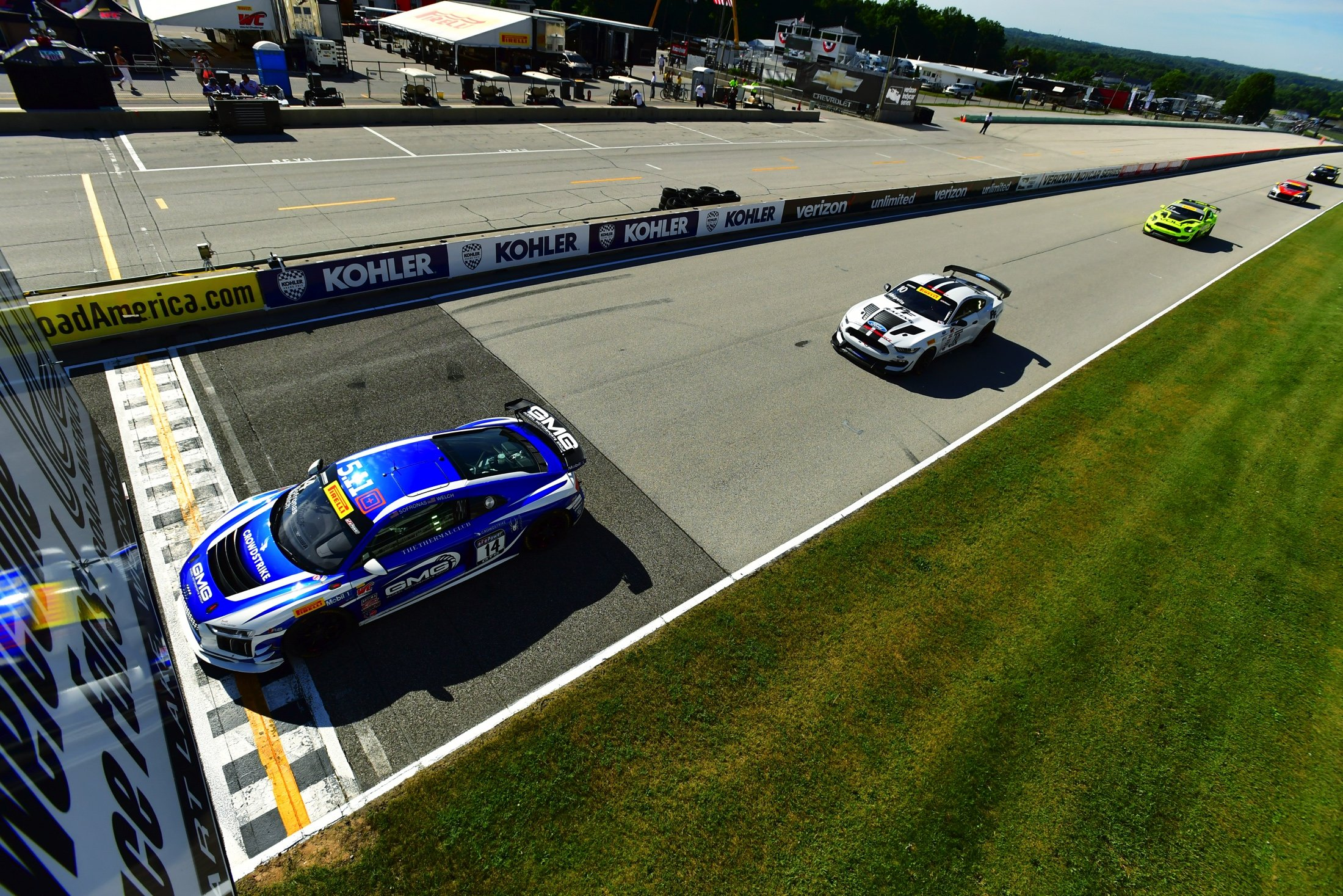 GMG Continues Championship Pursuit in Portland Return - GMG Racing