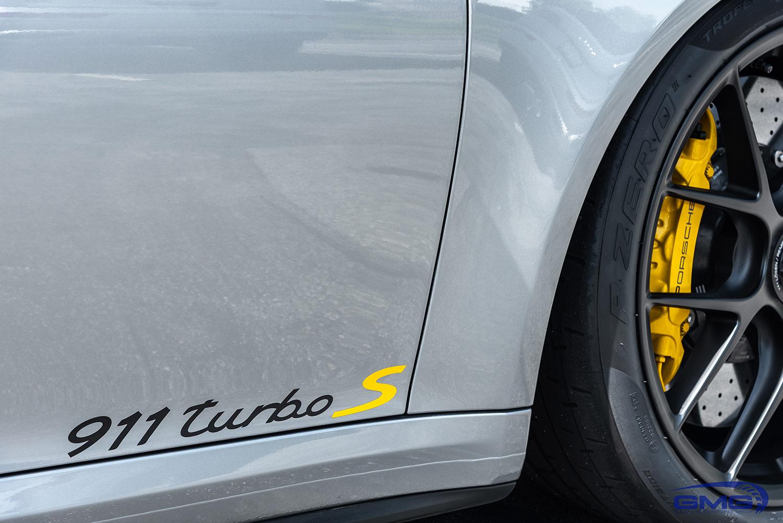 GT Silver Metallic Porsche 991.2 911 Turbo S