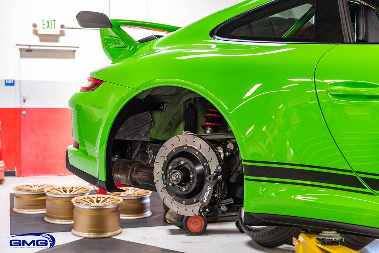 PTS Green Porsche 991 GT3