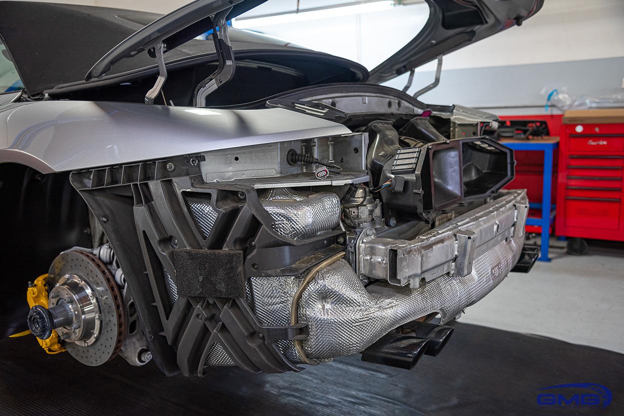Silver Porsche 911 991.2 GTS Coupe