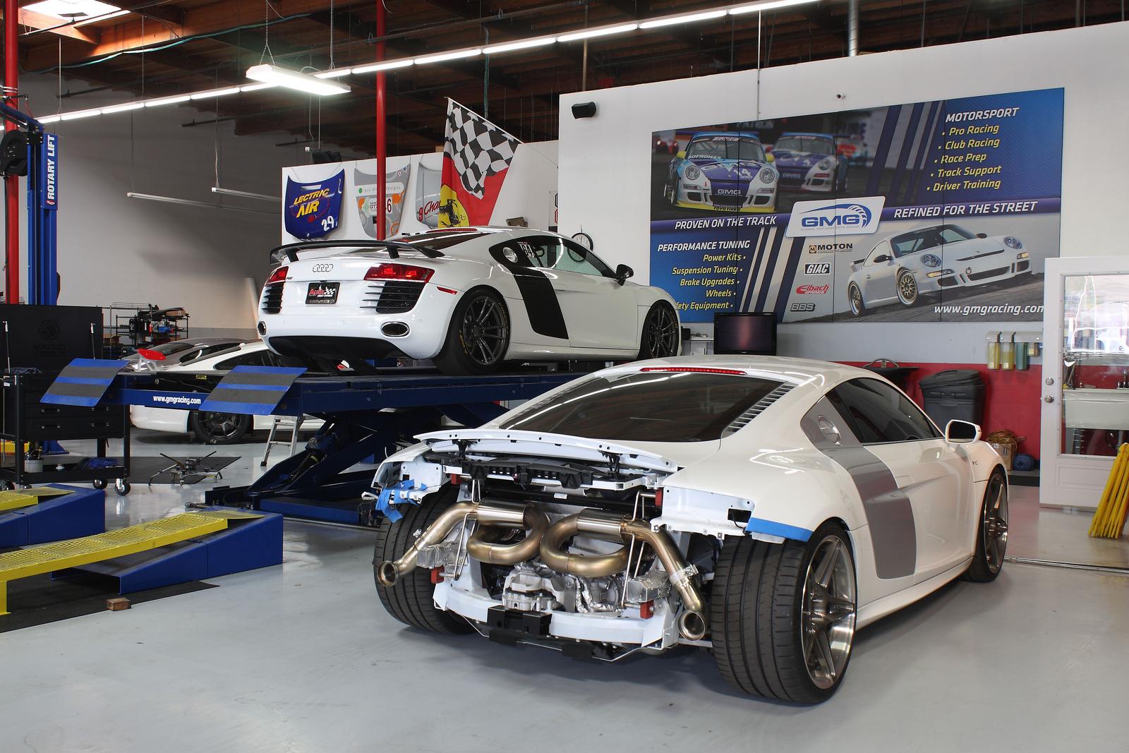 R8 V10 Gmg Racing