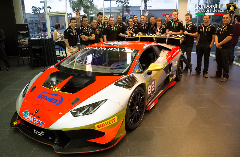 GMG, Lamborghini Newport Beach Return To Lamborghini Blancpain Super Trofeo  North America