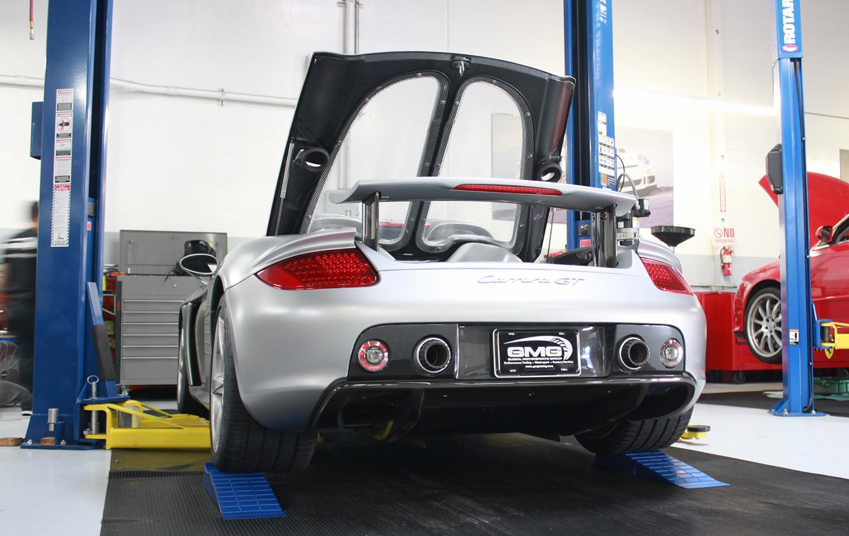 Porsche Carrera GT (Exhaust)