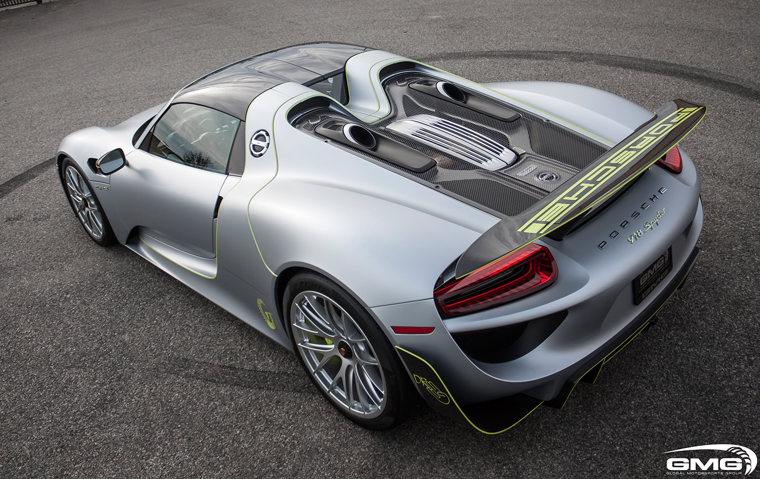 Porsche 918 Spyder Carbon Additions Gmg Racing
