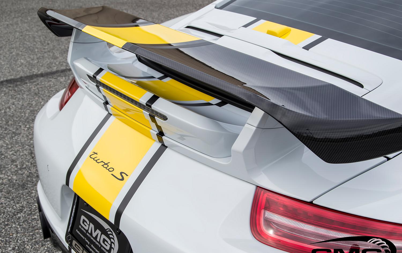 Porsche 991.1 Turbo S (White, Black, & Yellow)