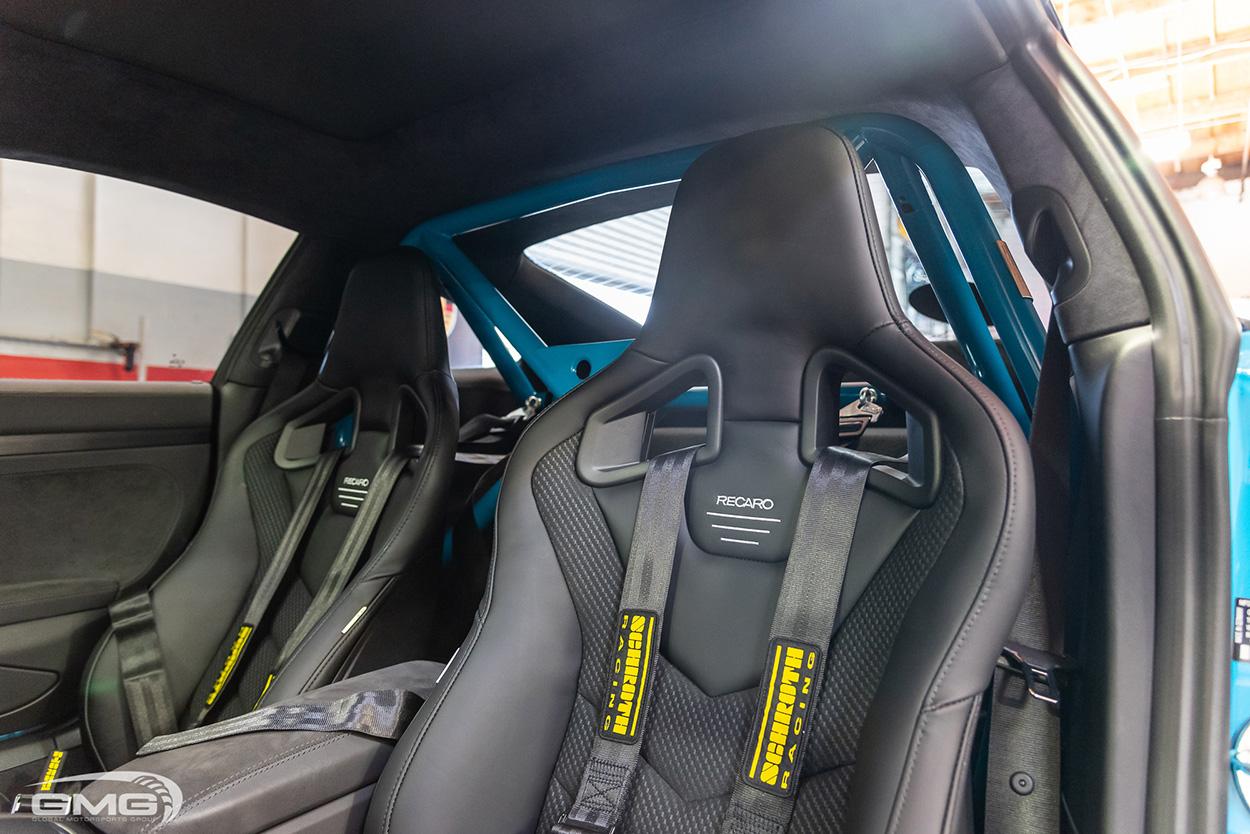 Miami Blue Porsche 991.2 911 Carrera GTS