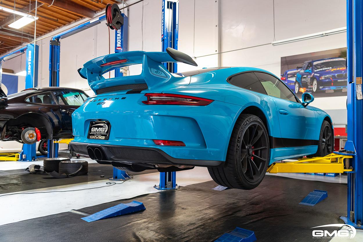 991.2 Miami Blue Porsche GT3