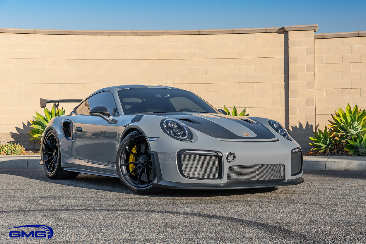 Nardo Grey Porsche 991 GT2 RS