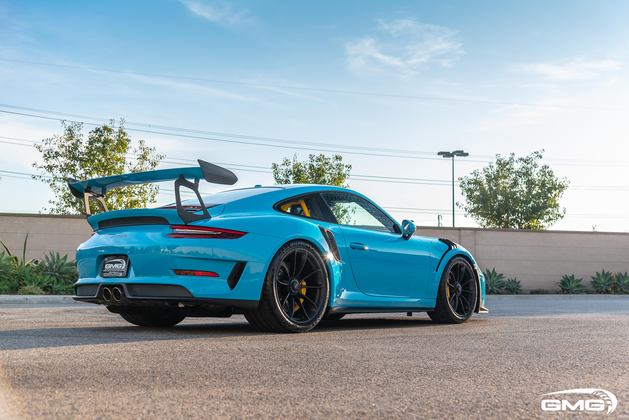 Miami Blue Porsche 991 2 Gt3 Rs Gmg Racing