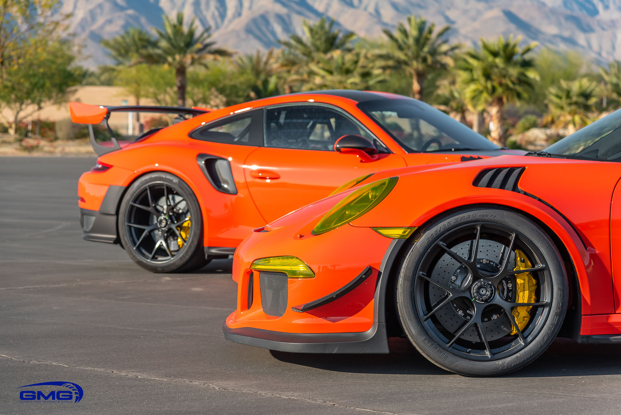 Lava Orange 991.1 Porsche GT3 RS