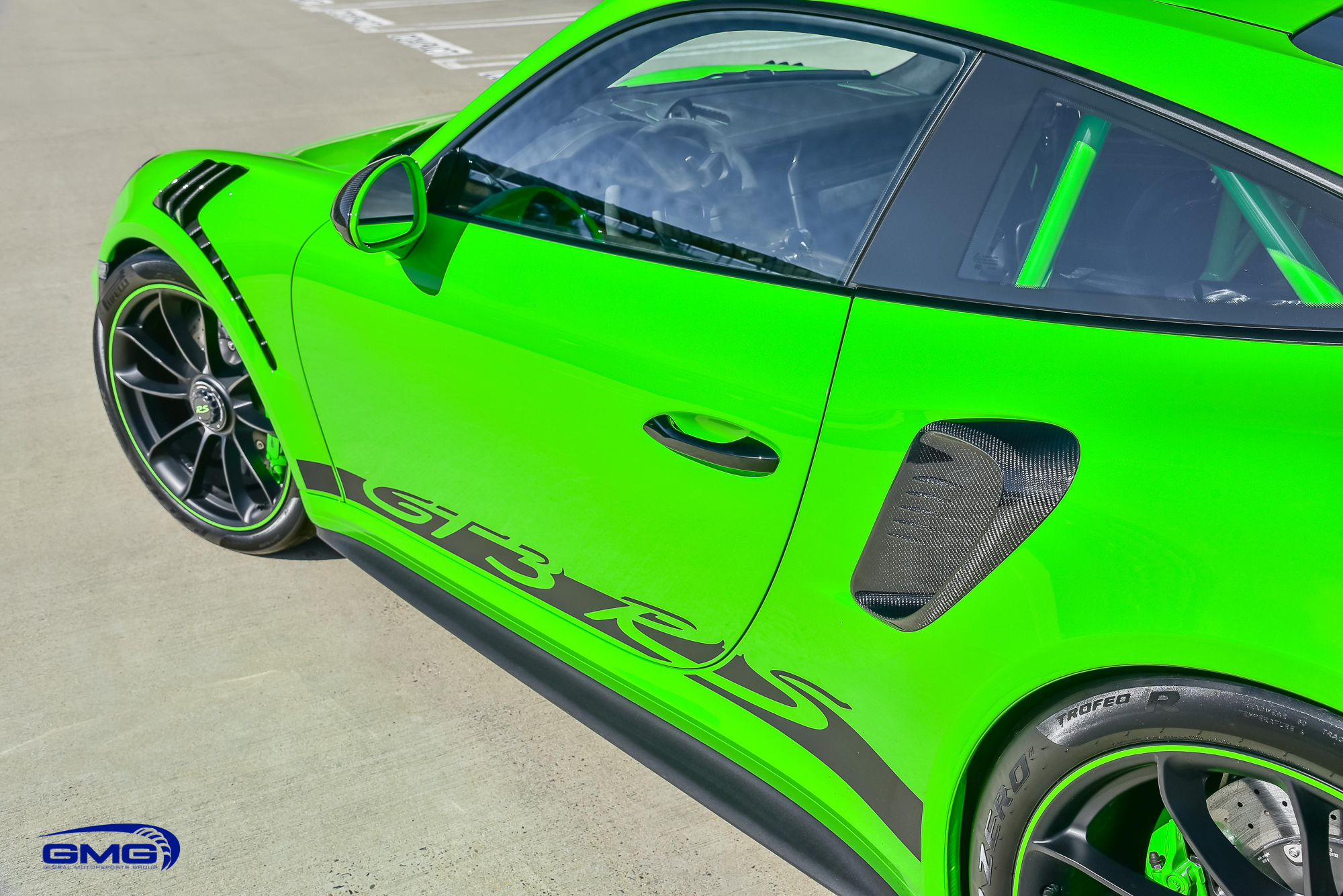 Lizard Green 991.2 GT3 RS