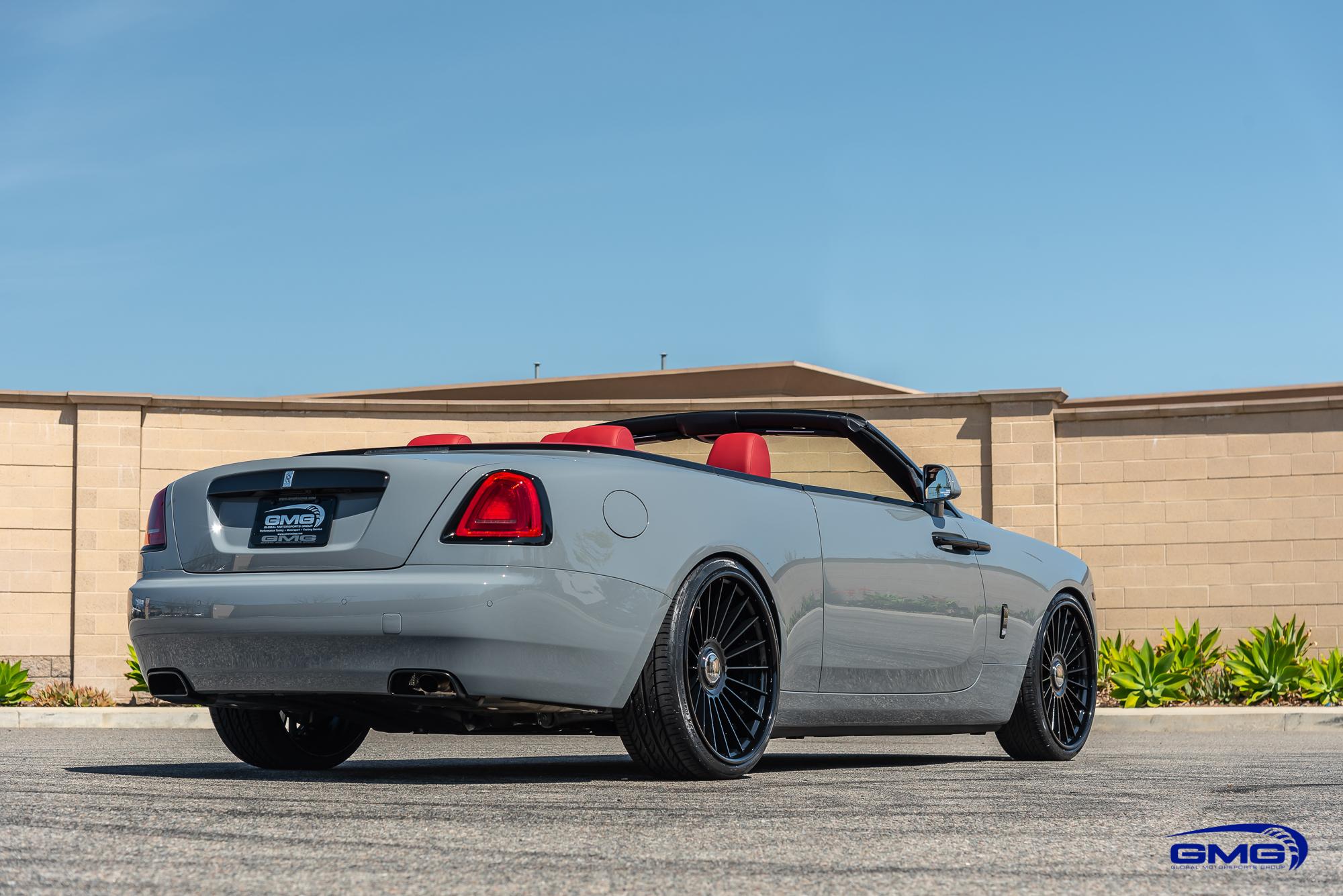 Burnout Grey Rolls Royce Dawn