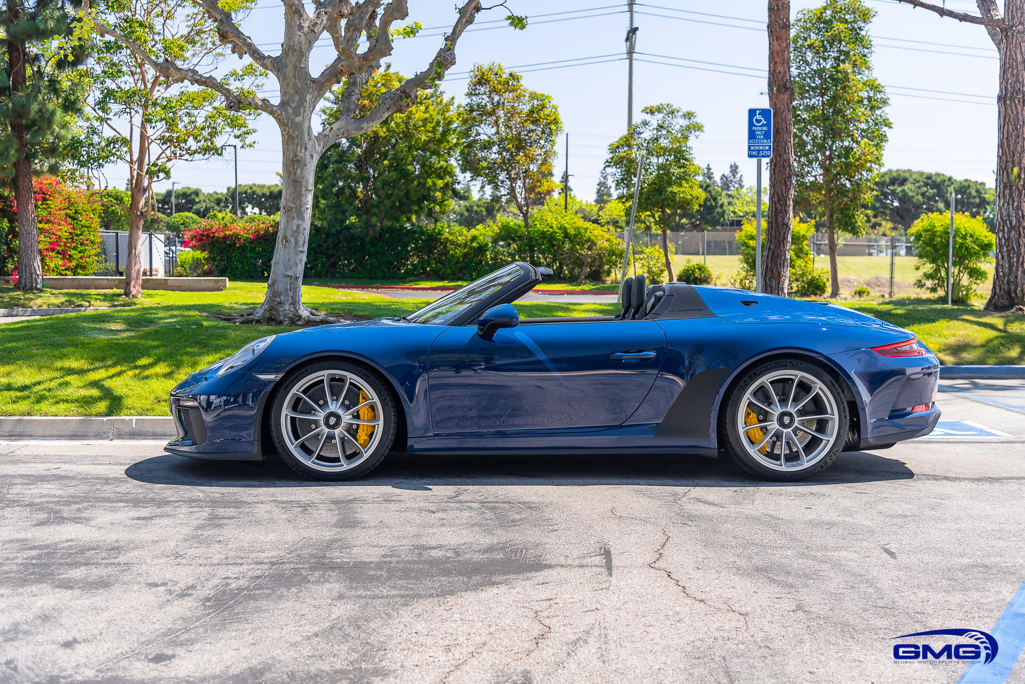 Albert Blue Porsche 991 Speedster