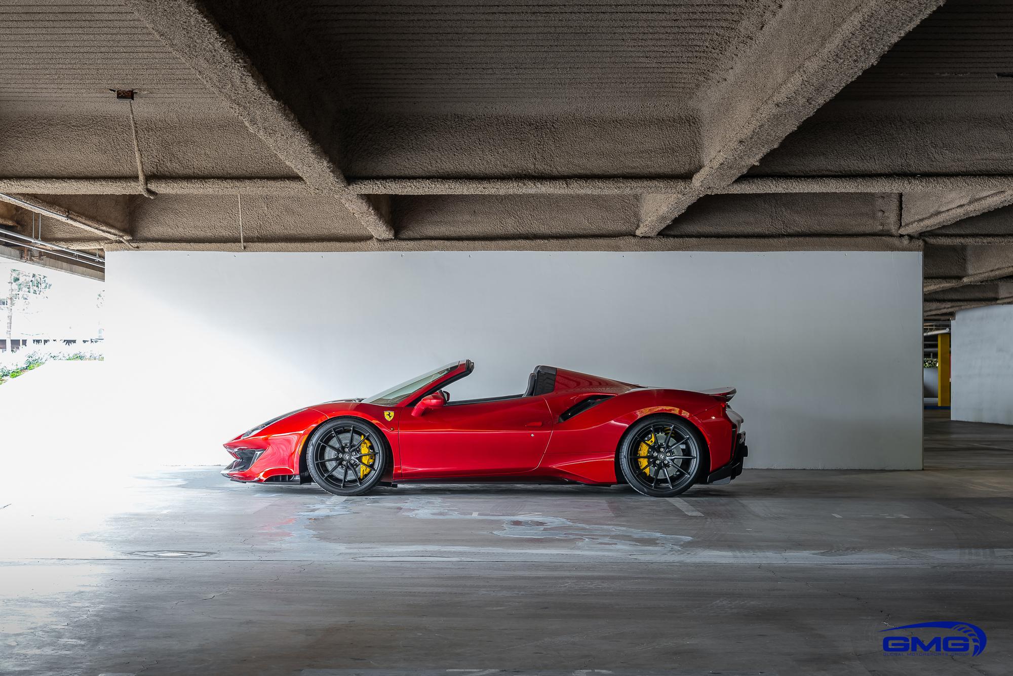 Rosso Fuoco Ferrari 488 Pista Spider