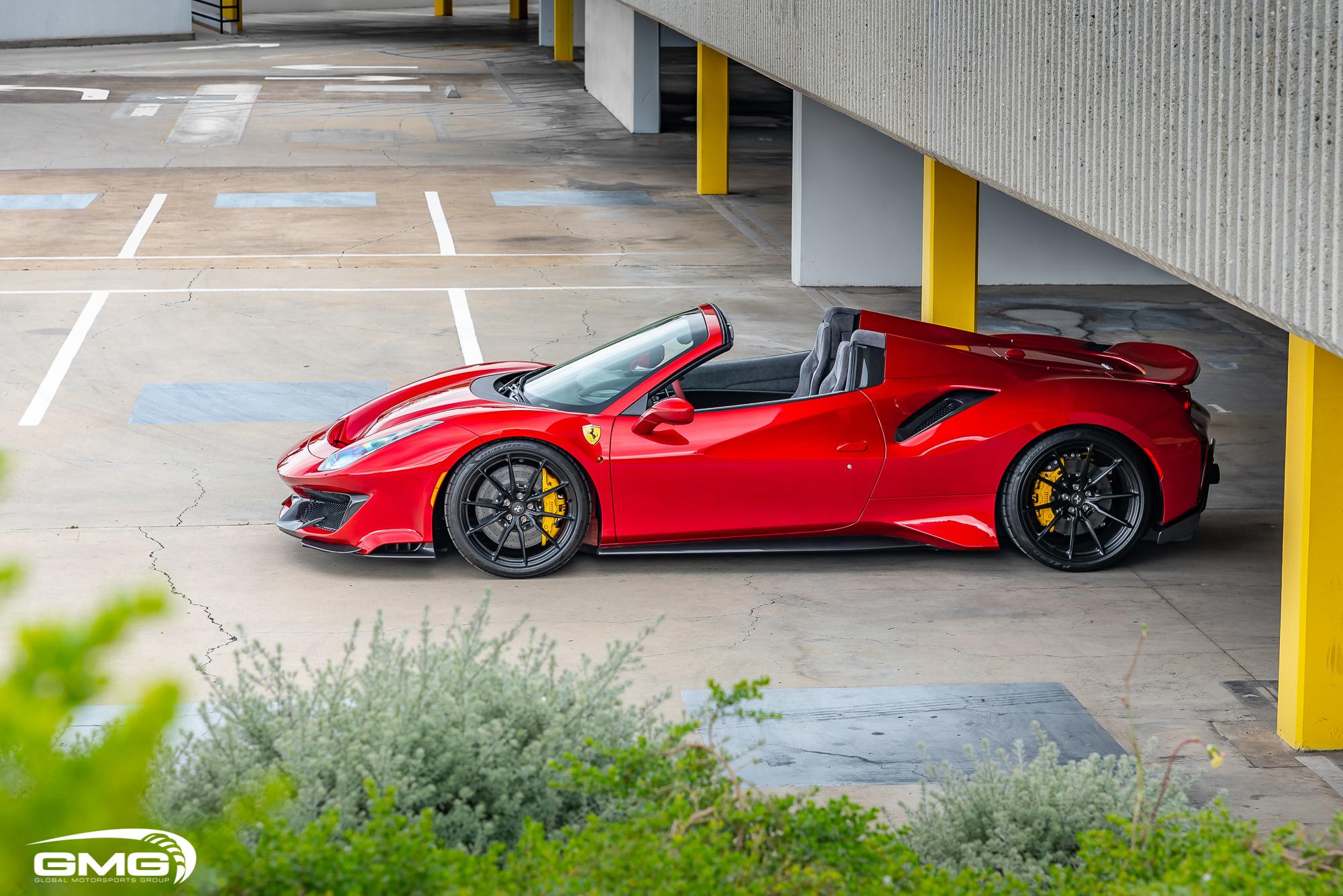 Rosso Fuoco Ferrari 488 Pista Spider Gmg Racing