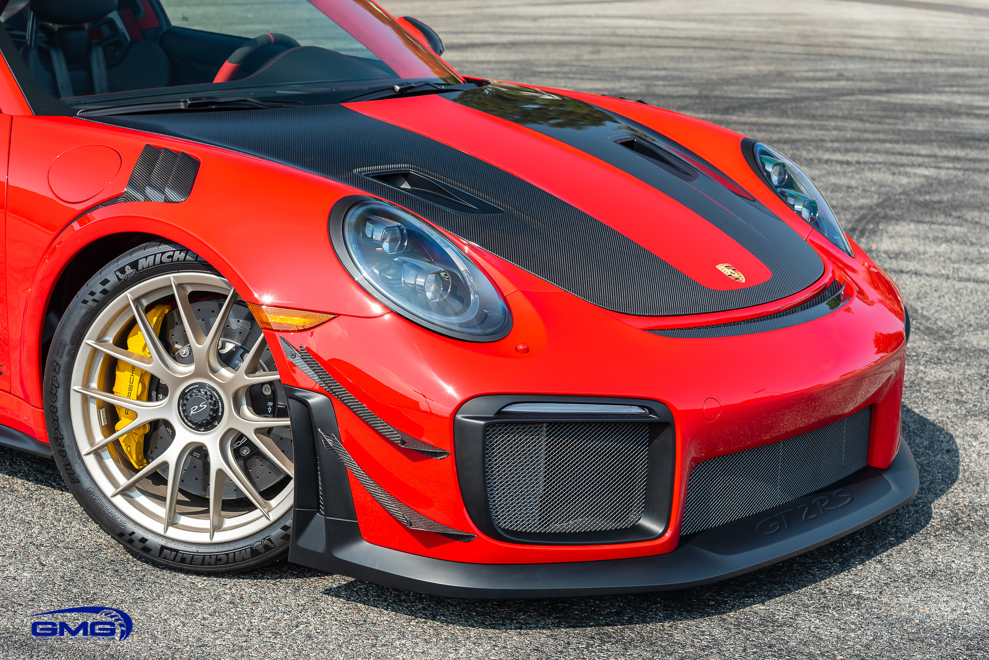 Guards Red 991 GT2 RS