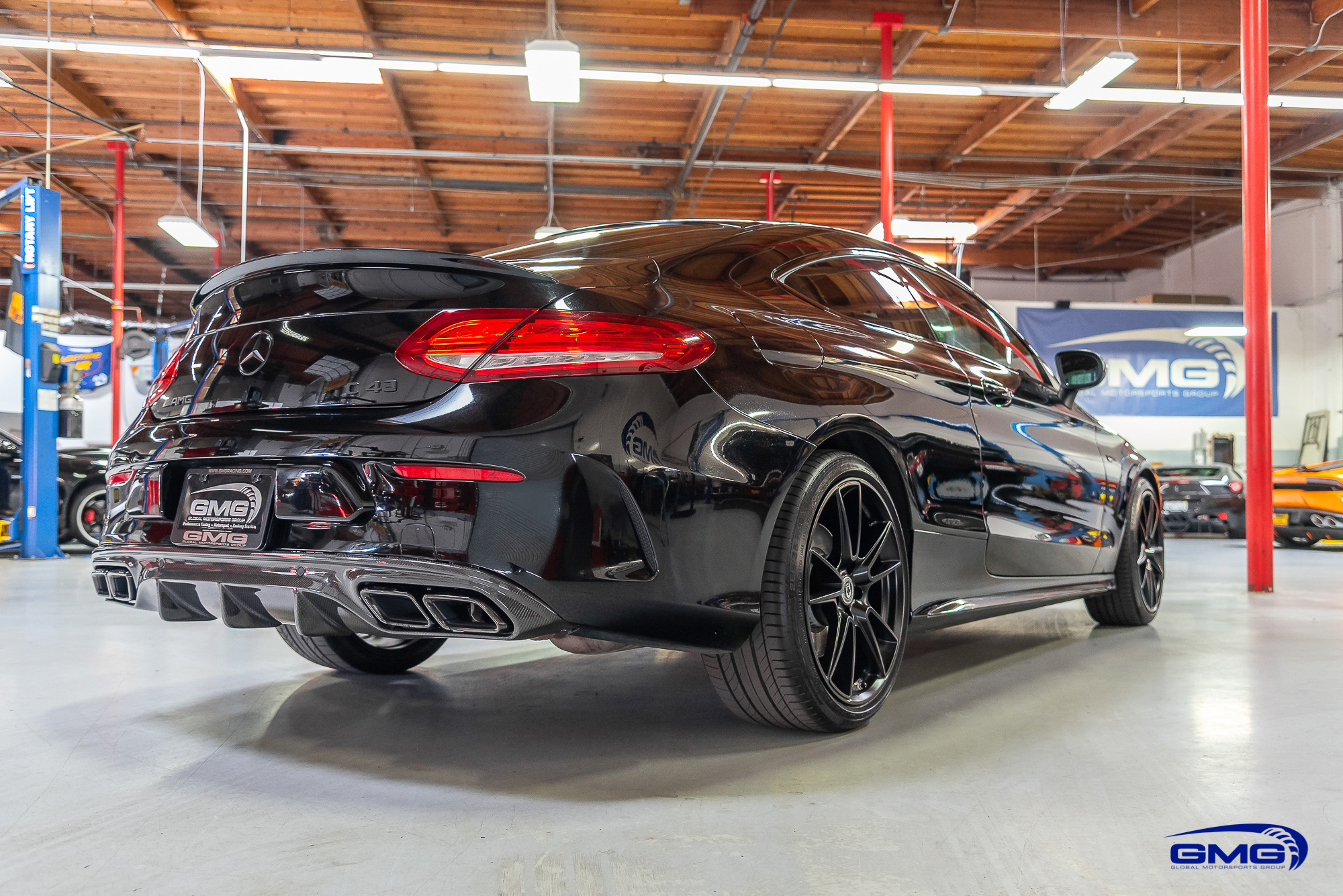 Mercedes Benz C43 AMG Coupe