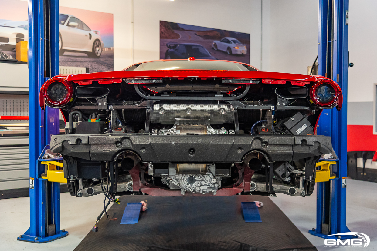 Rosso Corsa Ferrari 488 GTB