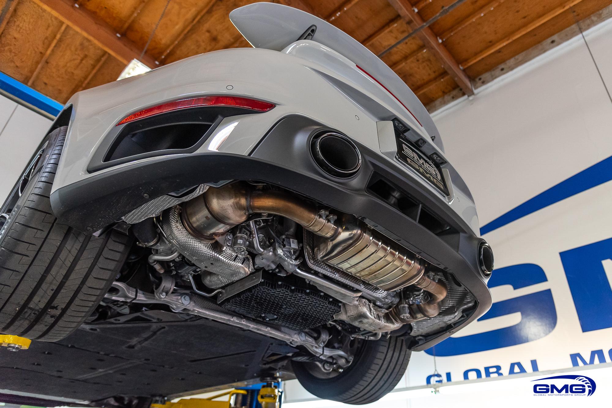 Chalk Porsche 992 Turbo S