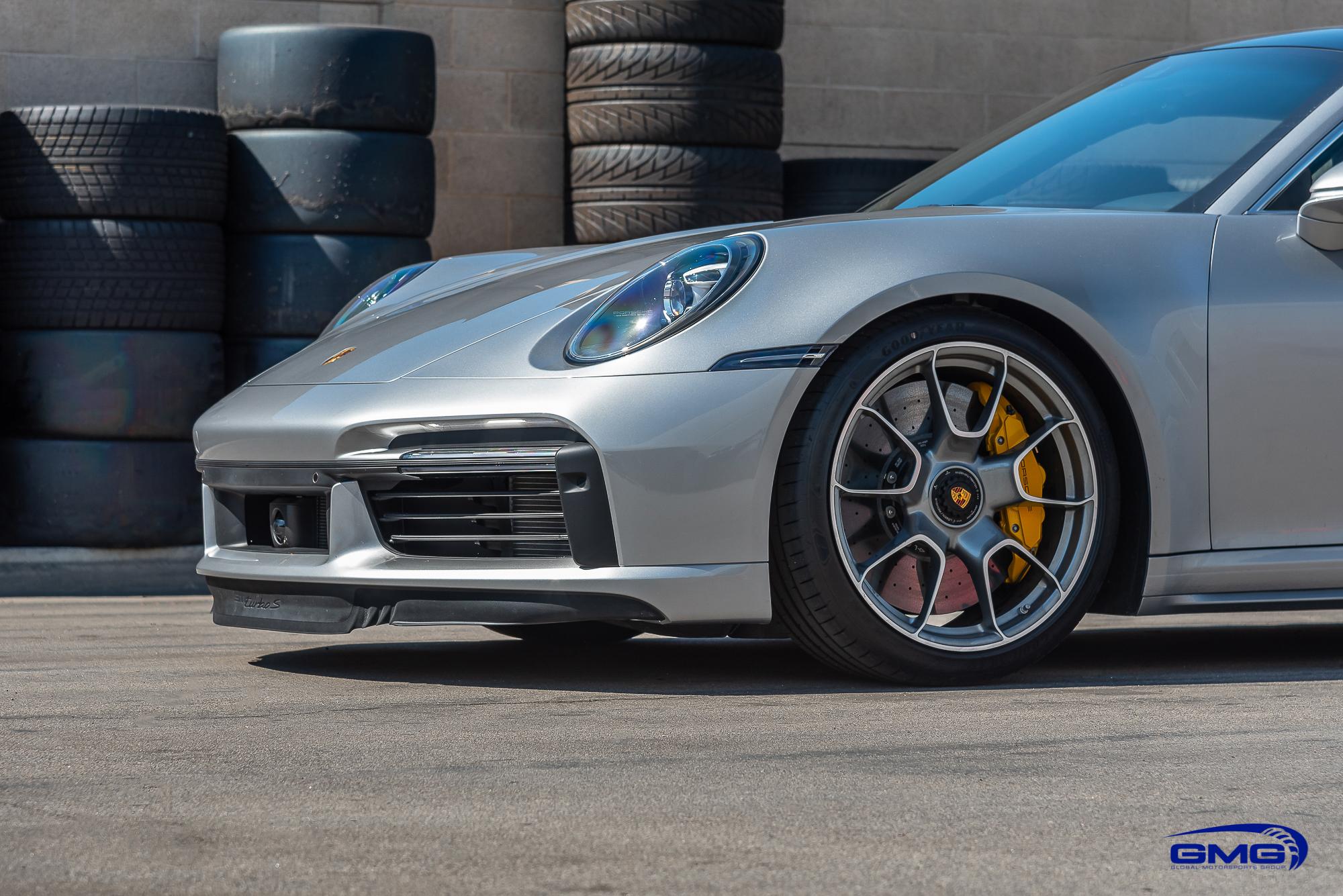 GT Silver Porsche 992 Turbo S