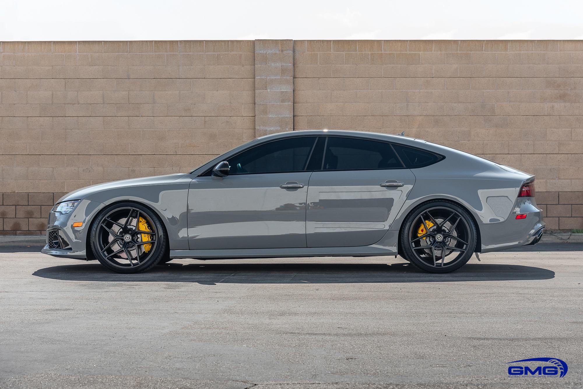 Nardo Grey Audi RS7